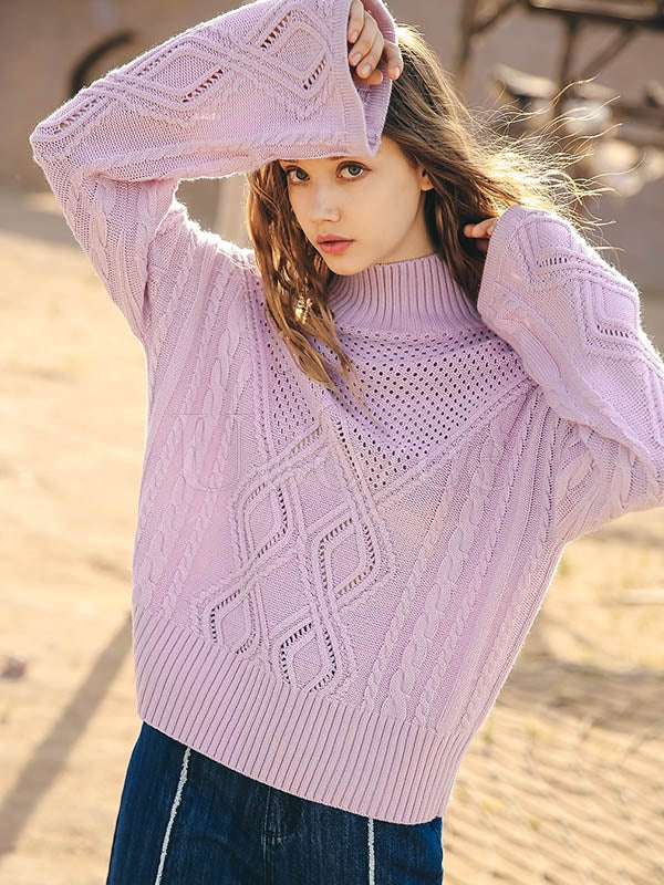 Liebo Knitting Casual Comfortable Sweater