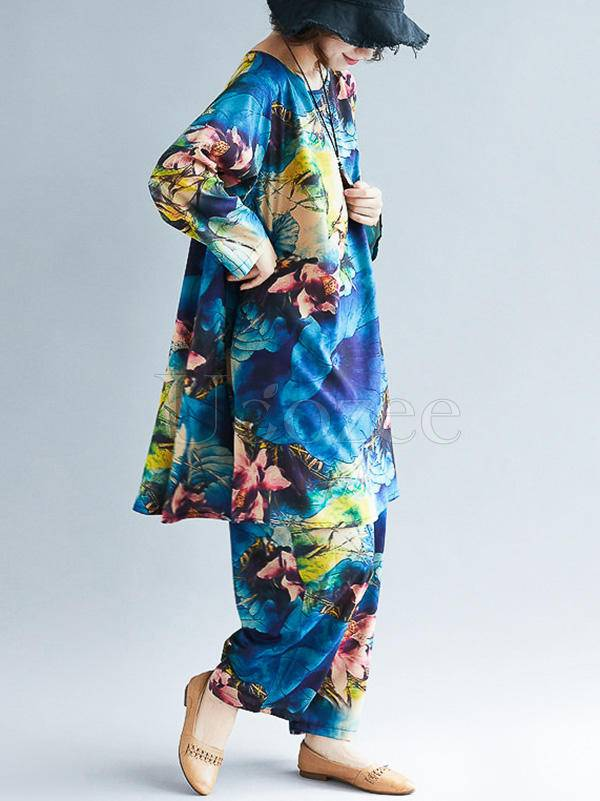 Colorful Printed Suits