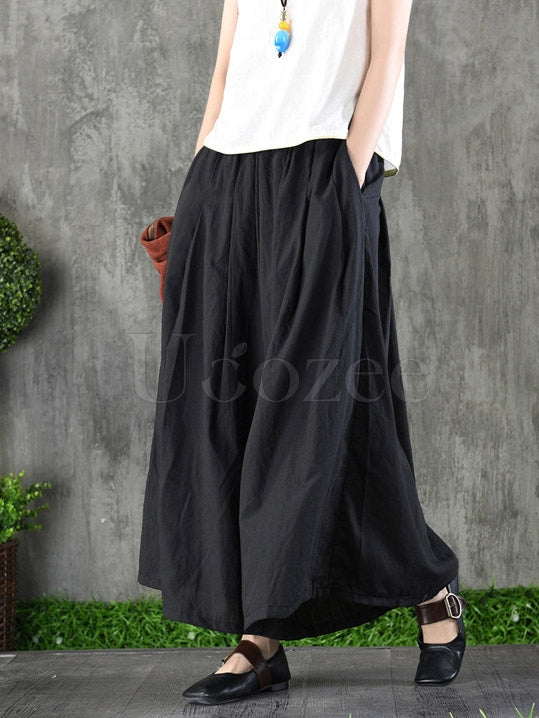 Loose Wide-leg Pants
