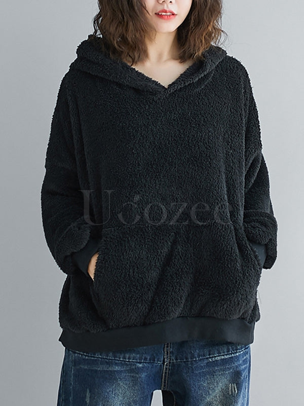 Casual Warm Thicken Hoodie Sweatshirt