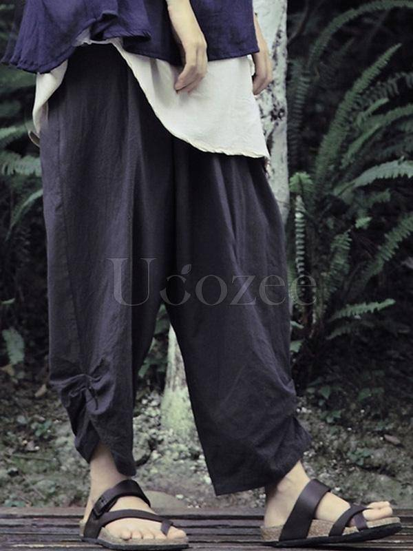 Comfortable Loose Casual Cotton Harem Pants