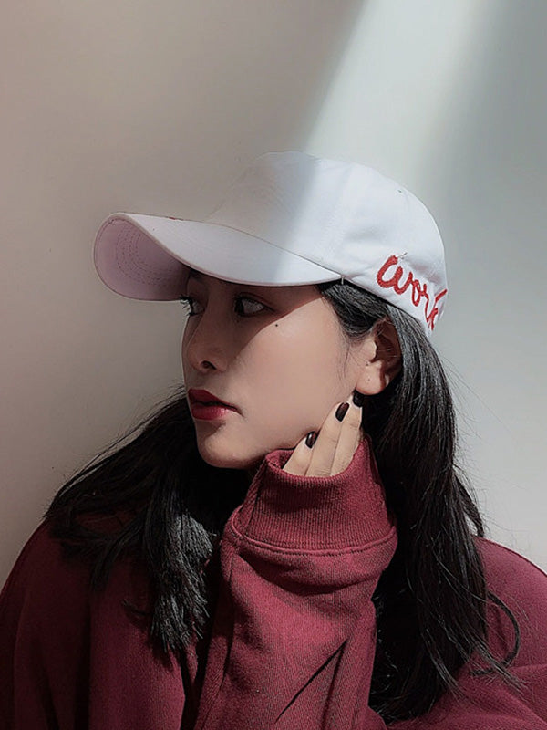 Solid Fashion Cool Embroidered Cap