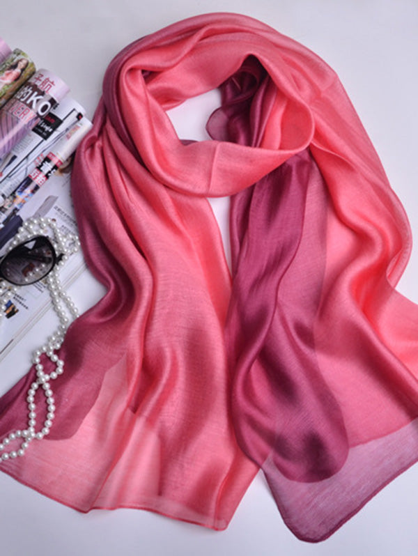 Mulberry Silk Gradient Scarf