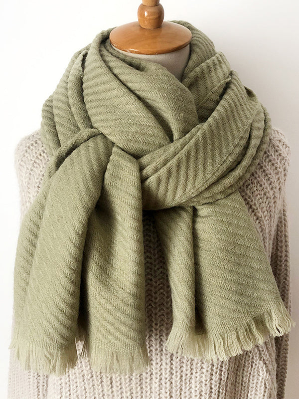 Solid Colors Fashion Scarf