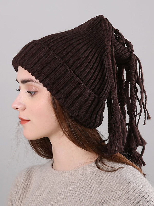 4 Colors Knitting Hat Accessories