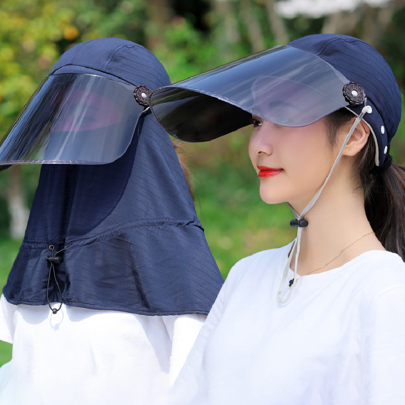 Light Sunshade Detachable Hat