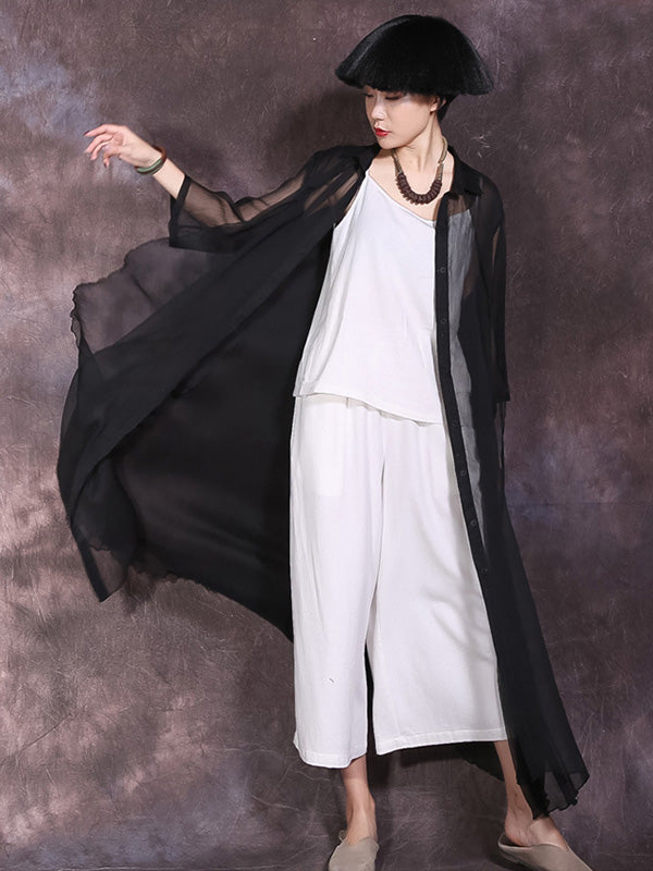 Ultrathin Double-deck Maxi Cover-up