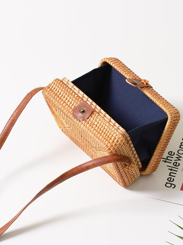 Rattan Forest Handmade Handbag Bag