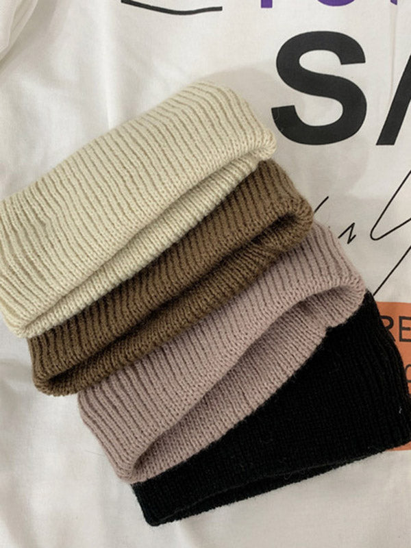 Vintage Solid Knitting Headwear