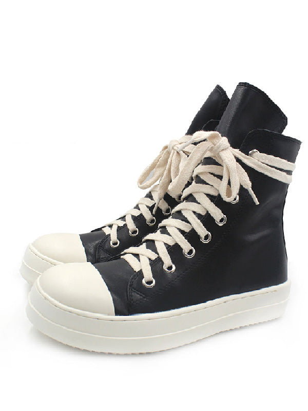 PU Hight Cut Casual Shoes