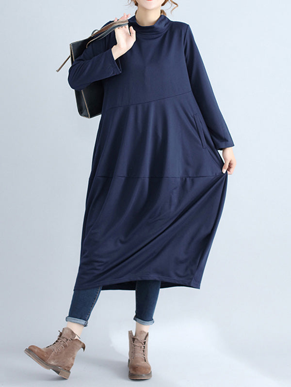 Loose Bloomer Long Dress