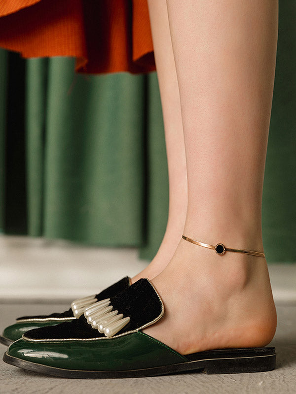 Fashionable Rose Gold Anklet