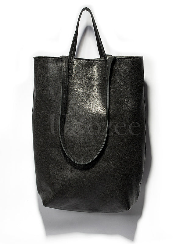 Leather Single-shoulder Bag