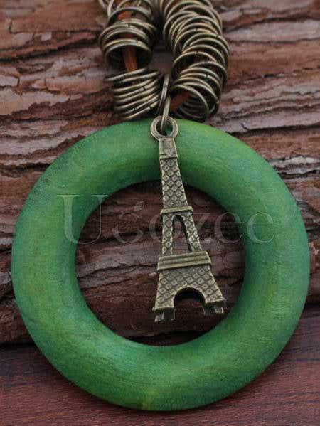 Eiffel Tower Pendant Necklace Accessories