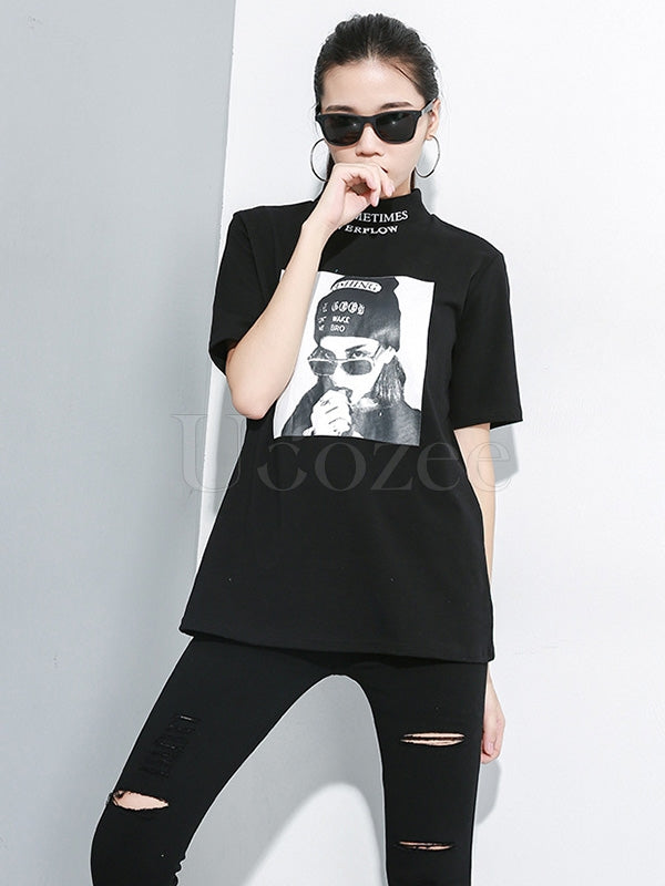 Comfortable Printed T-shirt