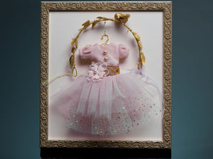Blushing Tutu Framed Art