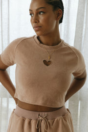 Sweetheart Crop | Biscuit