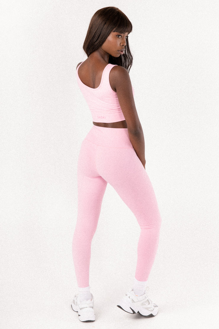 Light Pink High Waist Leggings