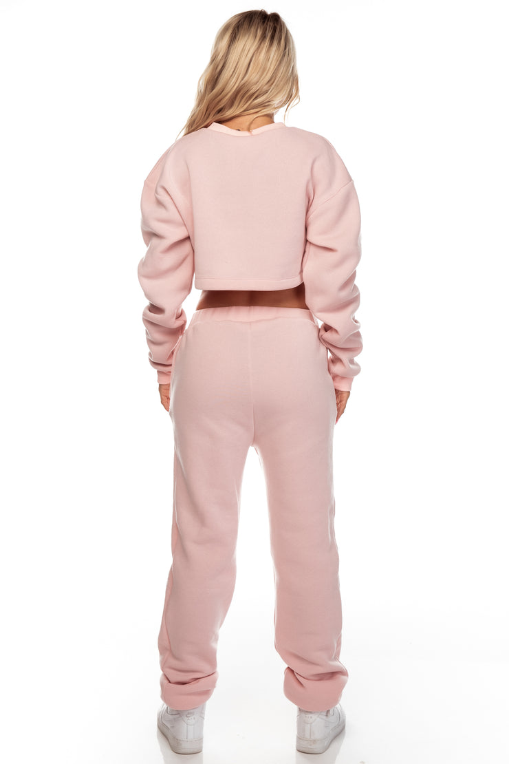Blush Fleece Jumper