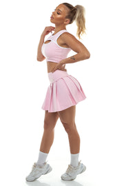 Sample - Baby Pink Tennis Skirt