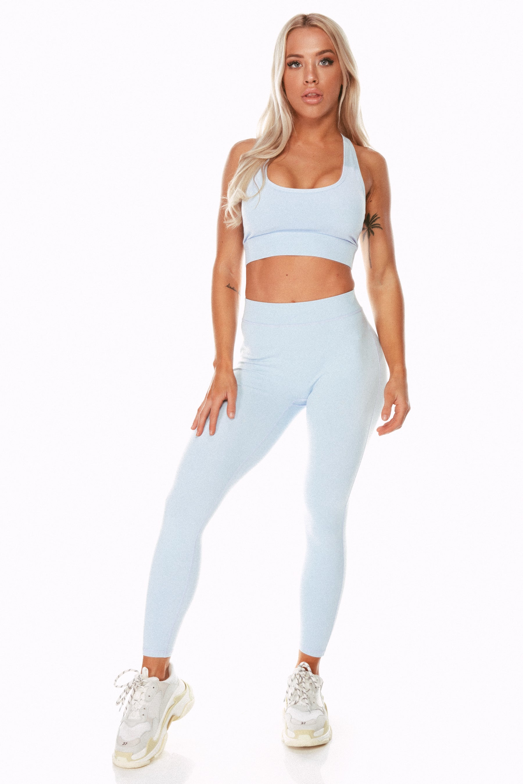 Staple Pale Blue Sports Bra