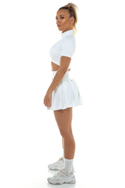 Sample - White Tennis Skirt
