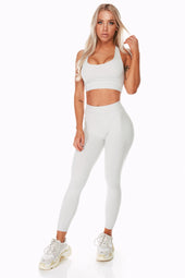 Staple Cement Sports Bra