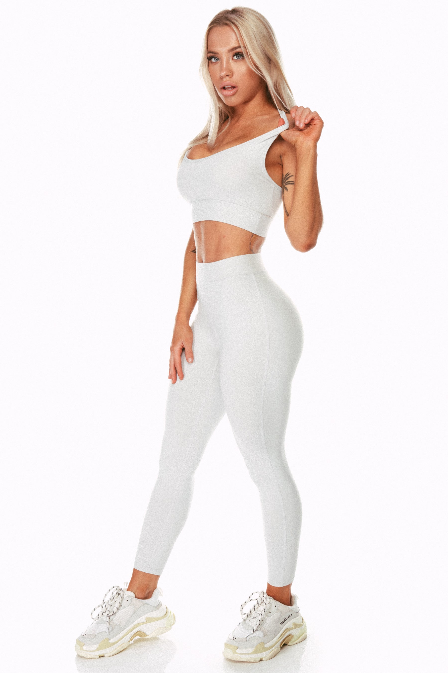 Staple Cement High Waist Leggings