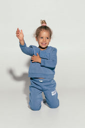 Dark Blue Mini Tracksuit