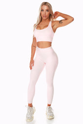 Staple Pale Pink High Waist Leggings