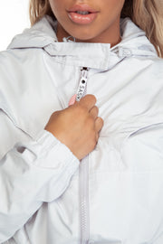 Silver Cropped Jacket