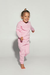 Light Pink Mini Tracksuit