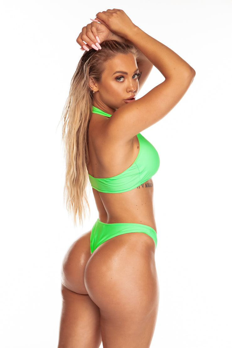 The Sadie Bottoms | Neon Green