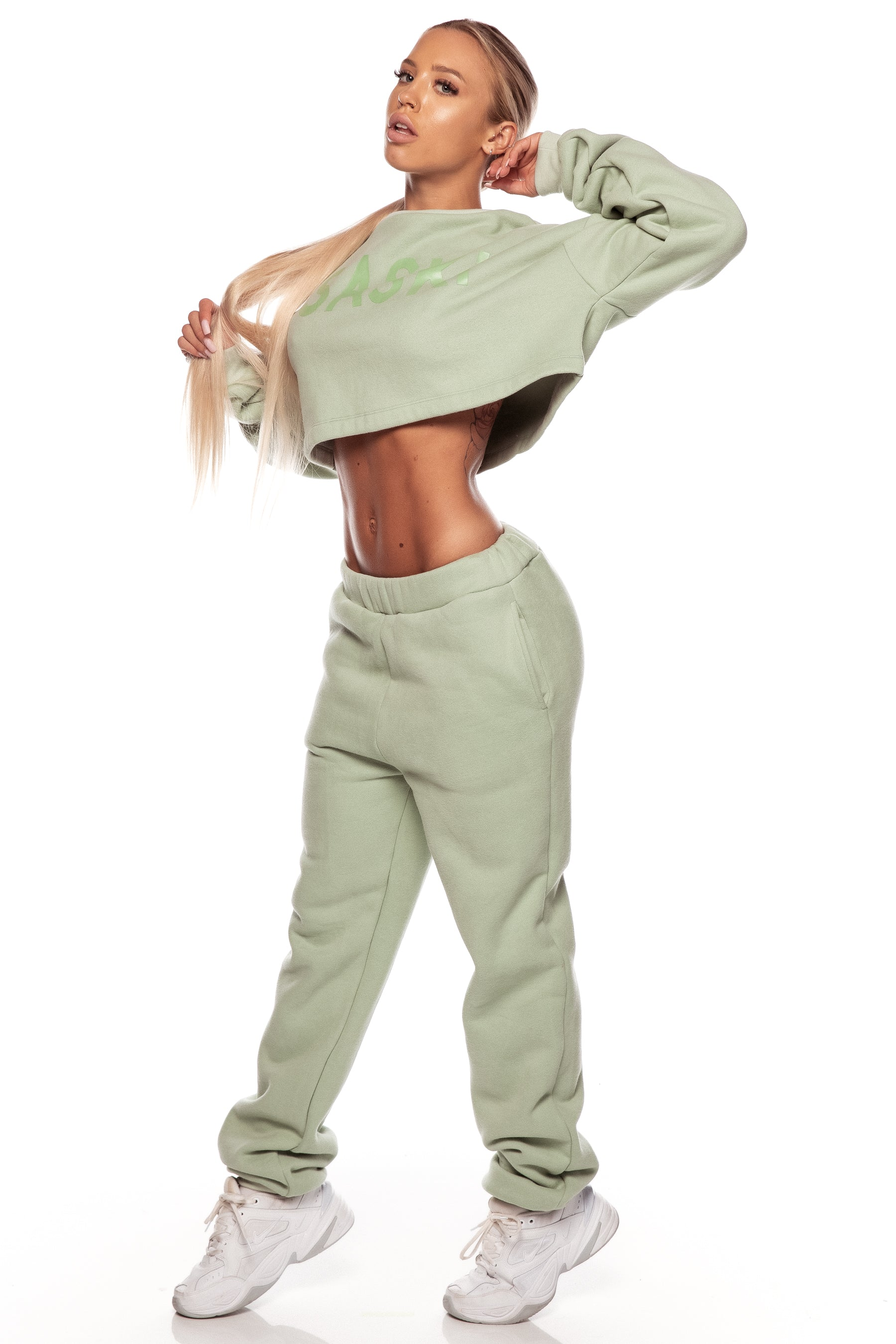 Pistachio Fleece Sweats