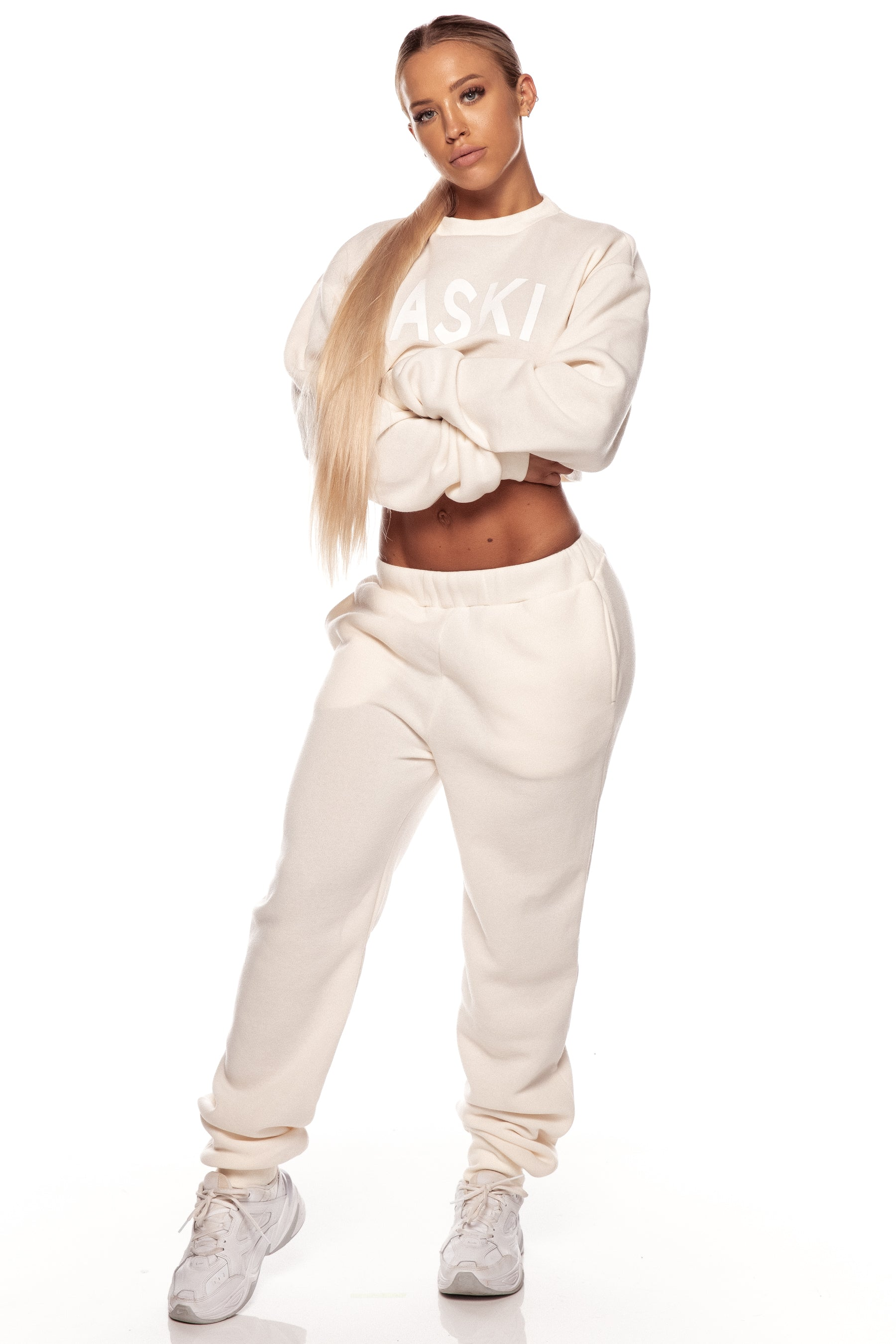Cream Fleece Sweats
