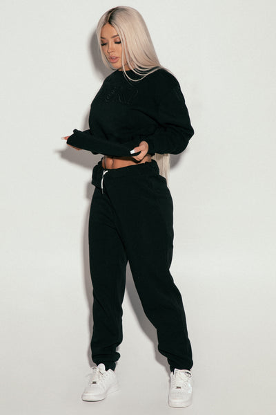 Black Saski Jumper