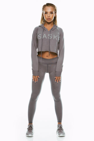 Charcoal Saski Jumper