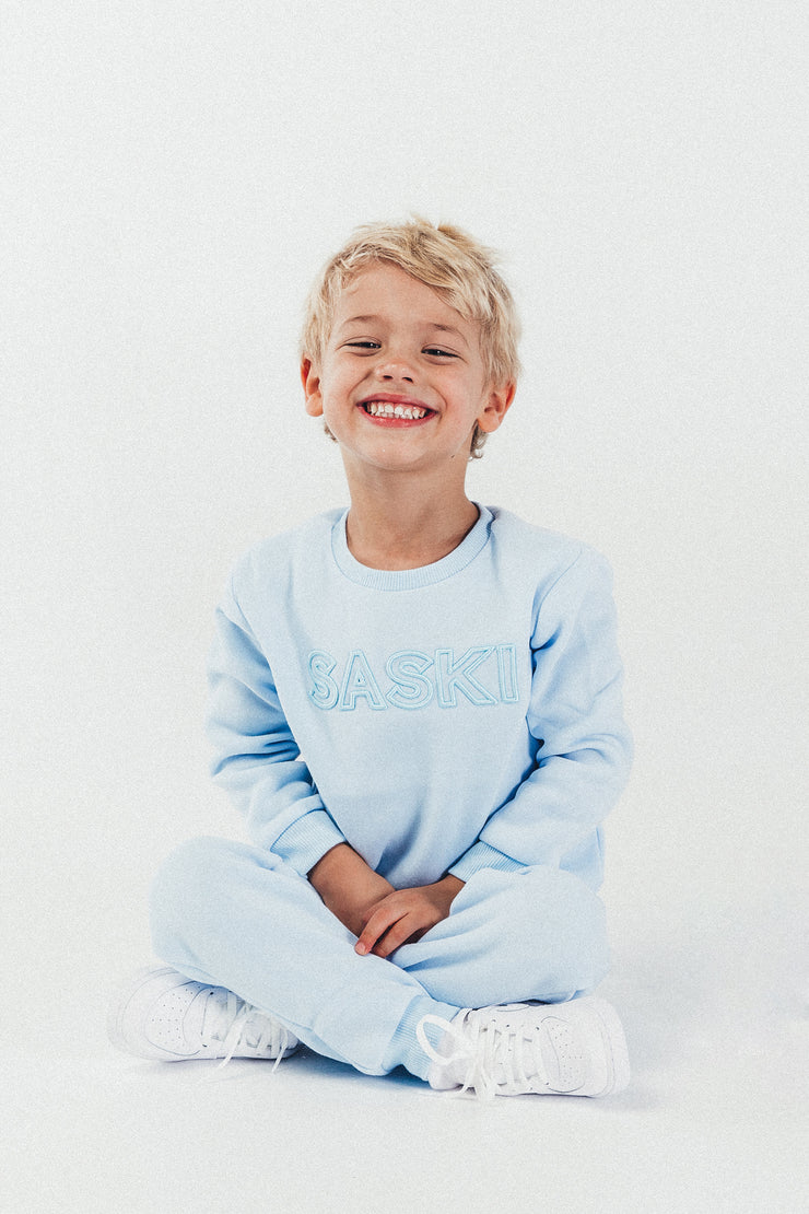 Light Blue Mini Tracksuit
