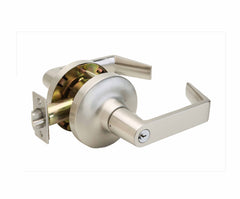 Commercial Non-Handed Grade 1 Security Storeroom Lever in Satin Stainless AL7250SS by Bulldog