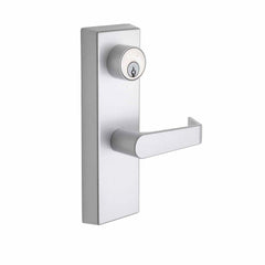 Commercial Non-Handed Exterior Escutcheon Storeroom Lever in Satin Stainless AL9150SS by Bulldog