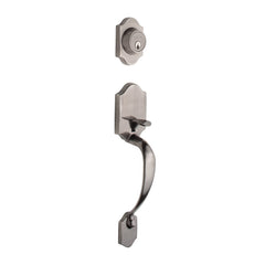 Heritage Handleset in Antique Nickel HZ2610AN by Copper Creek
