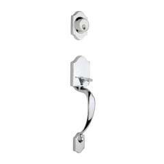 Heritage Handleset in Polished Stainless HZ2610PS by Copper Creek