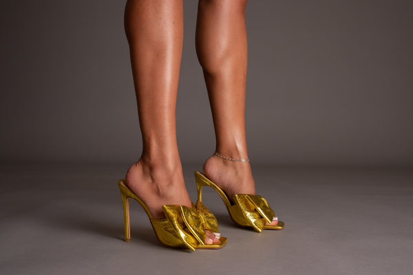 Girl Friend Heels - Gold