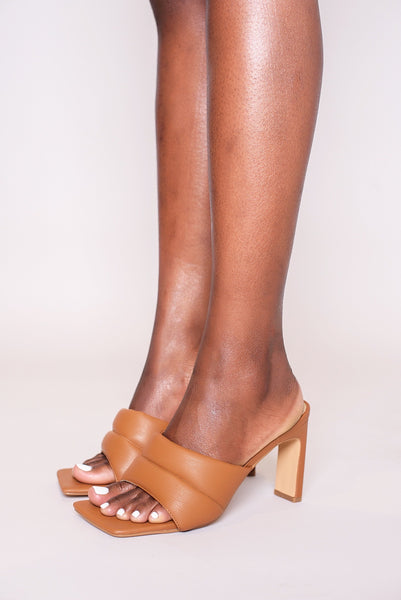 Fetch Mules - Chestnut