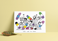 Load image into Gallery viewer, Rollin' Homos / Homies Print ~ Noods Creative X TBP