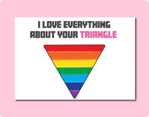 I love your Triangle & Circles Card