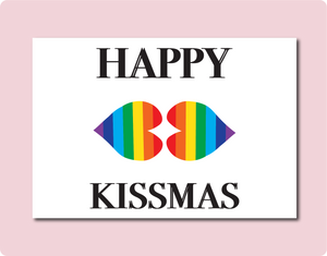 Happy Kissmas Card