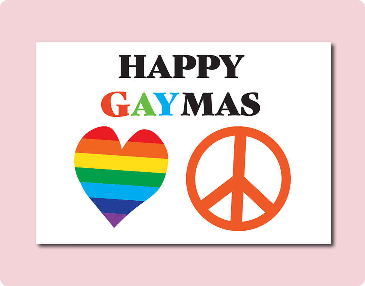 Happy GAYmas