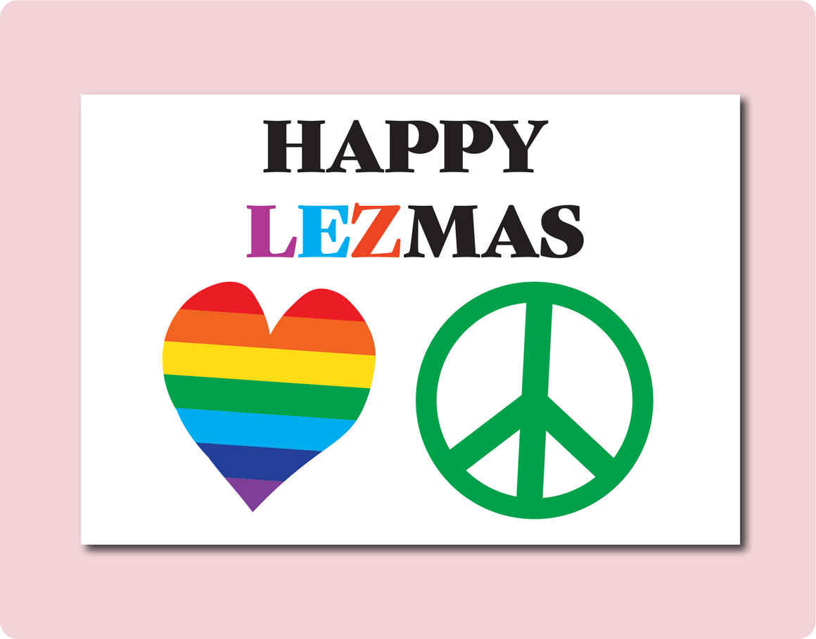 HAPPY LEZMAS Card