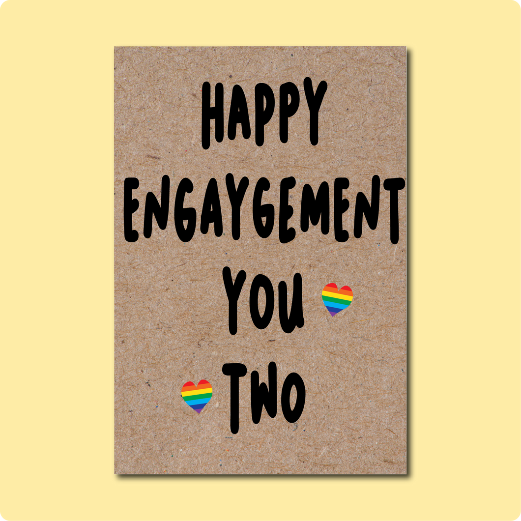 Happy Engaygement Card